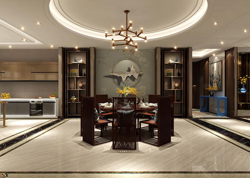 金丰·一品园 270平 新中式风格